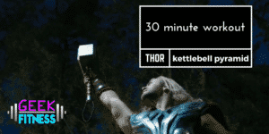 30 minute workout - thor's kettlebell pyramid