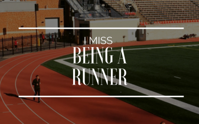 I miss being a runner