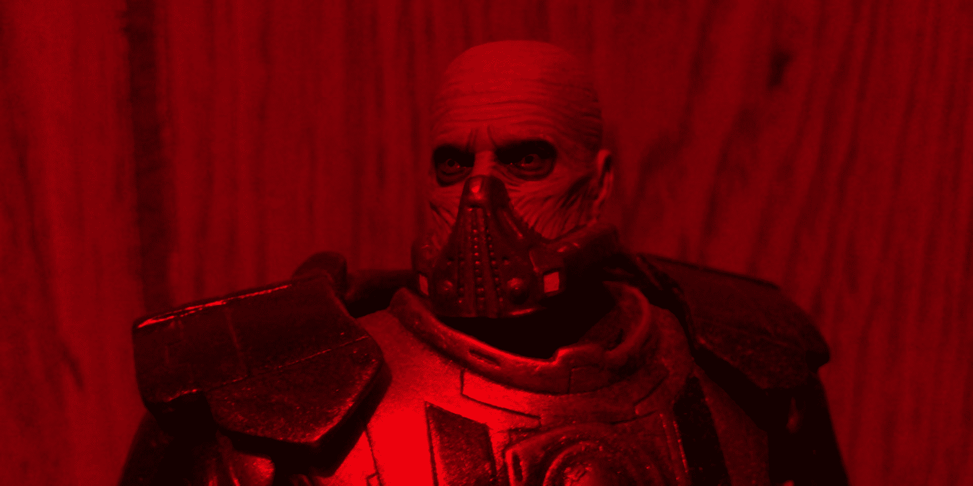 darth malgus has some breathing problems, it seems