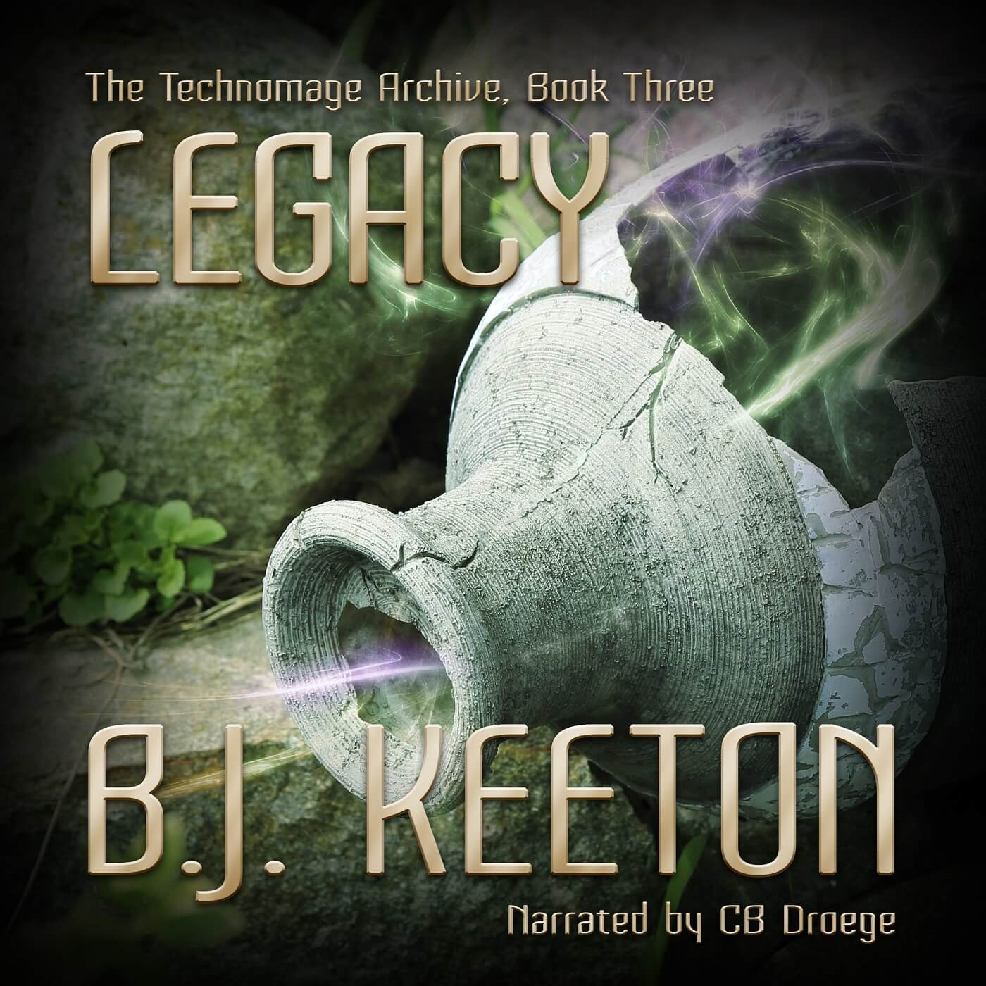 My novel LEGACY is now an audiobook!