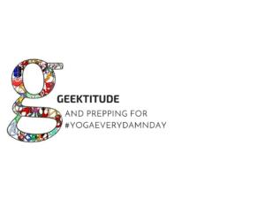 Geektitude on FitGeekFriday