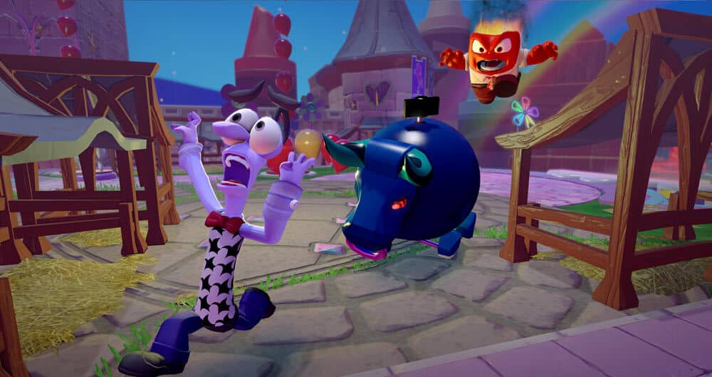Fear and Anger - Inside Out - Disney Infinity