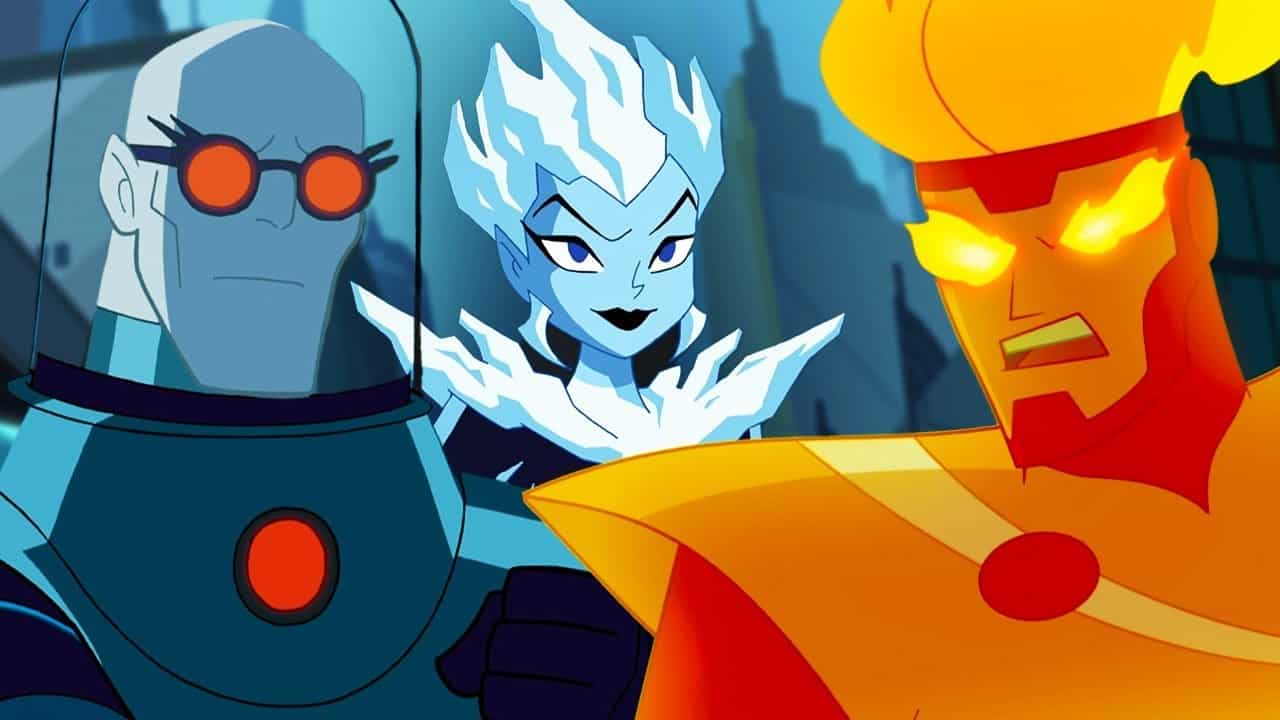 justice league mr freeze and firestorm
