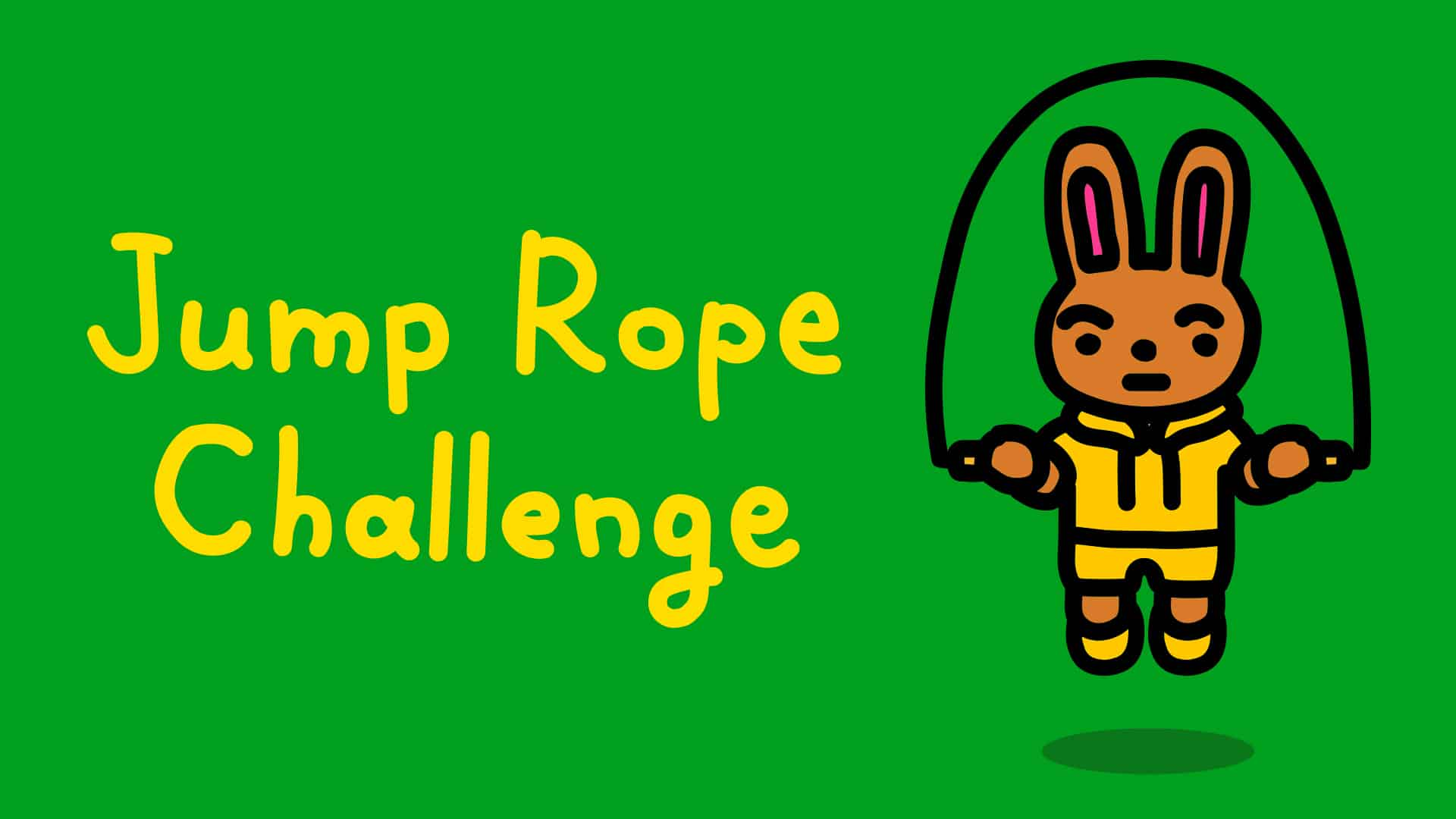 Jump rope challenge for switch