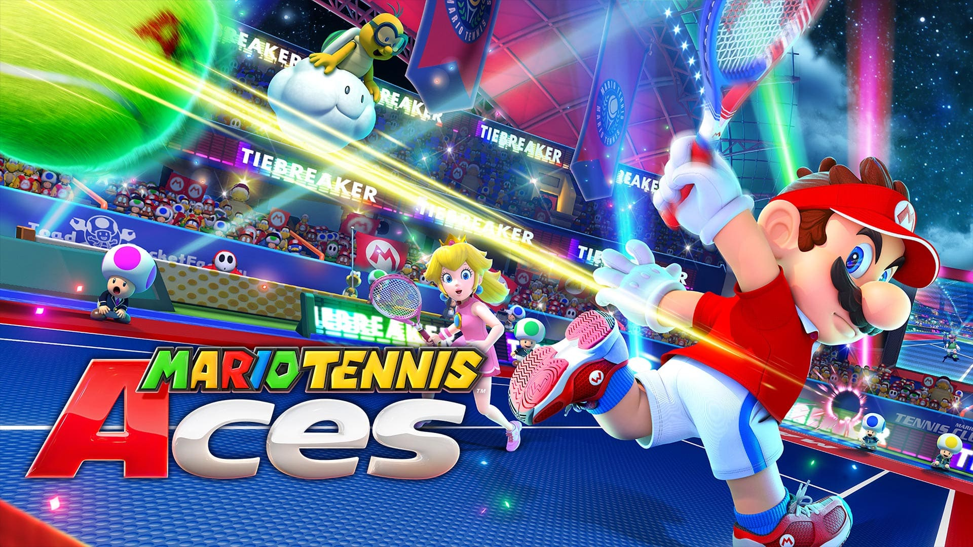 Mario tennis aces is one of the absolute best workout games on Switch